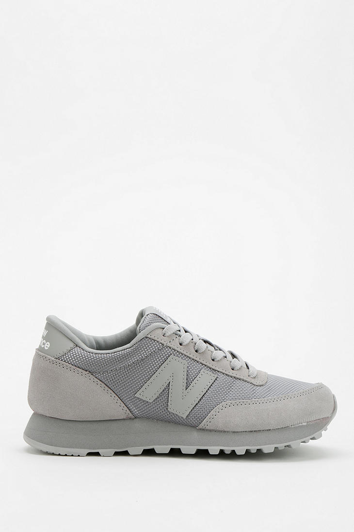 bas prix 7ce21 a8bcf New Balance 501 Monochromatic Running Sneaker in Gray for ...