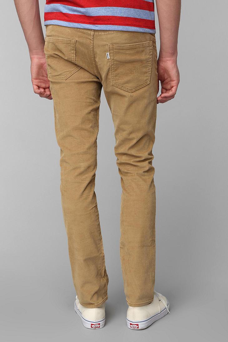 Wonderful Leviu0026#39;s Menu0026#39;s 511 Slim Fit Corduroy Pants Green Brown Black Blue Beige Tan New | EBay