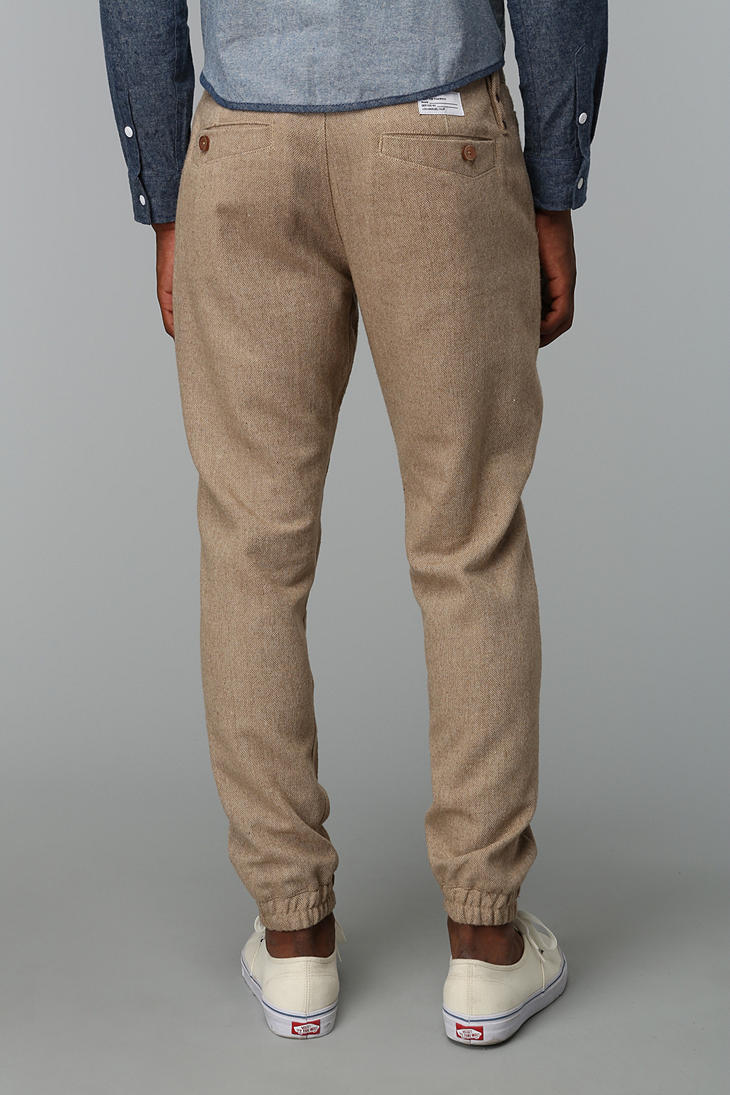 Lyst Urban Outfitters Publish Abenzo Wool Jogger Pant In