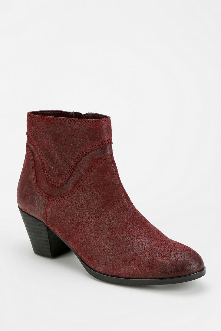 outfitters dolce vita jeno suede ankle boot in