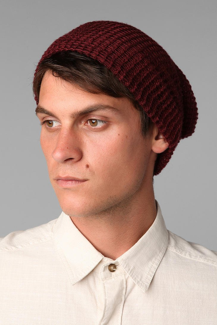 Gallery. Previously sold at  Urban Outfitters · Men s Pink Beanies ... efc9229ba9a