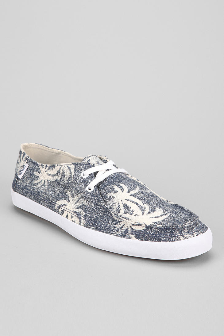 930f6213e2 Lyst - Urban Outfitters Vans Rata Vulc Aloha Mens Sneaker in Blue ...
