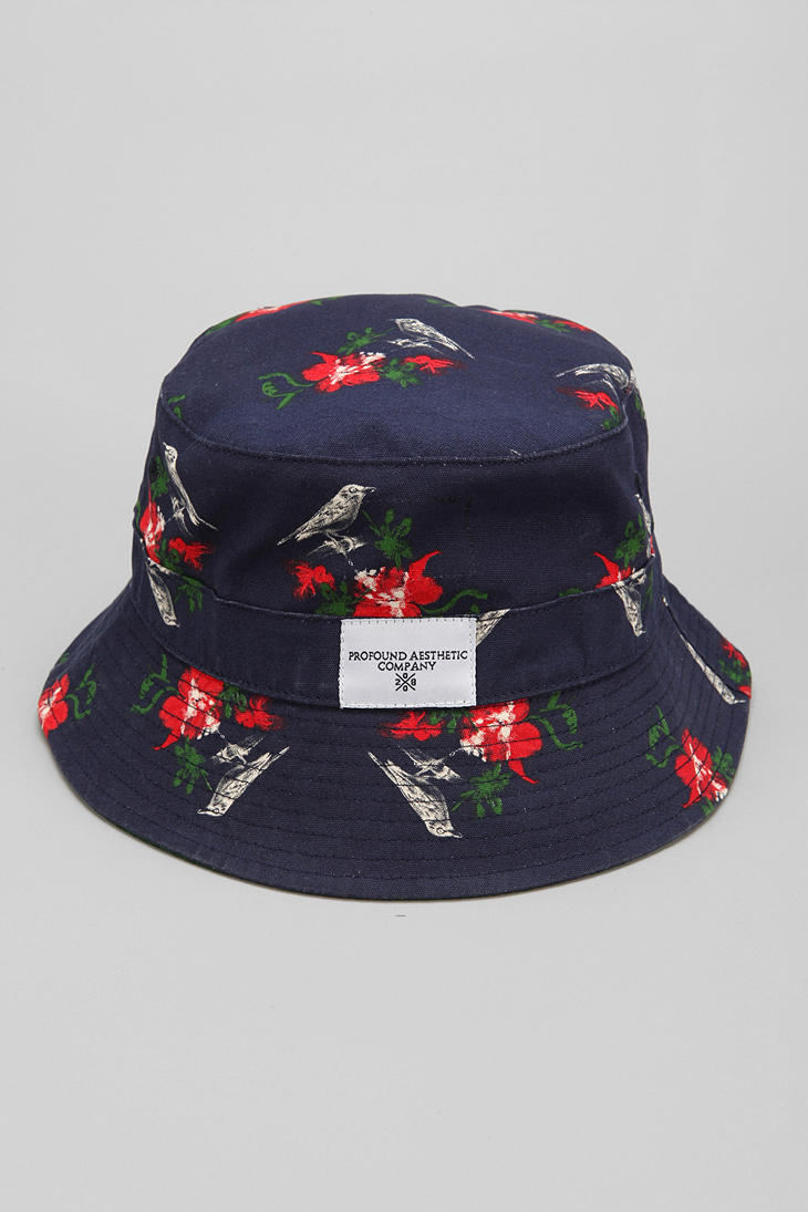 Urban Outfitters Profound Aesthetic Birds Bucket Hat in