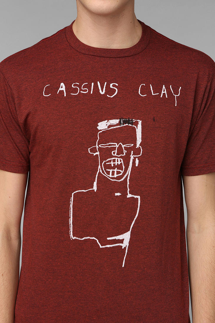 Urban Outfitters Junk Food Basquiat Cassius Clay Tee In