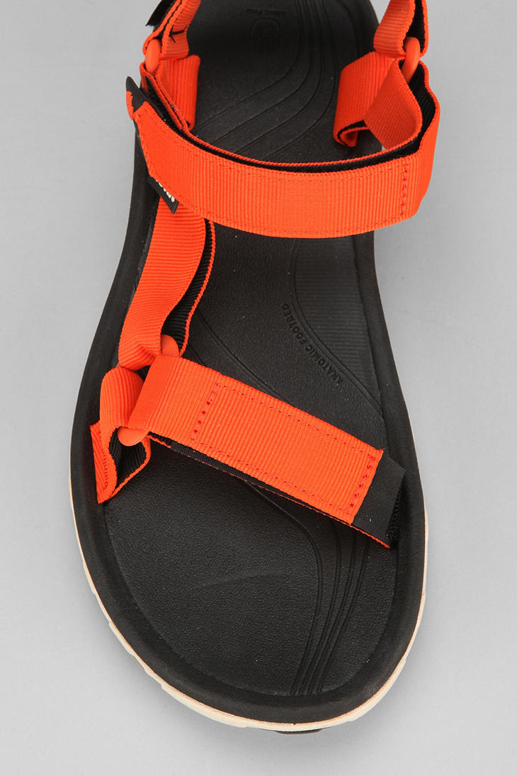 55a166a7f1adac Lyst - Urban Outfitters Teva Hurricane Xlt Sandal in Orange for Men