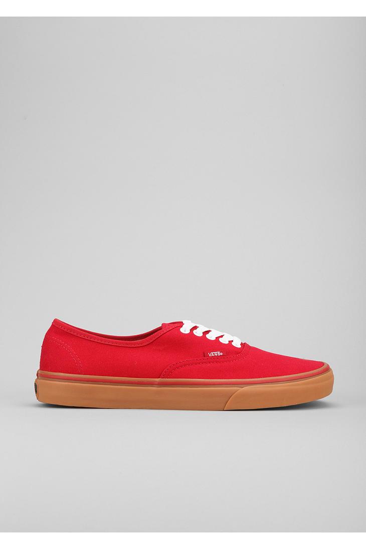 Vans Canvas Authentic Gum Sole Sneaker