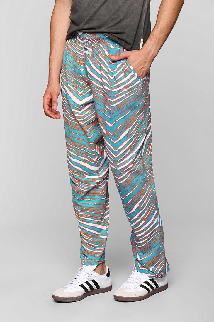 Urban Outfitters Zubaz Miami Dolphins Pant In Green For