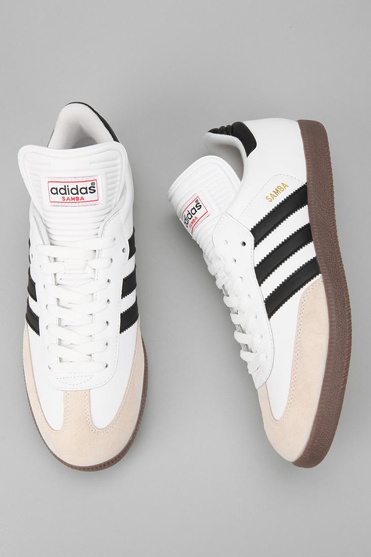 white adidas samba classic