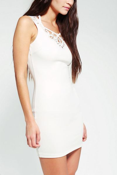 White Lace Dresses For Girls Lace Dress in White Urban