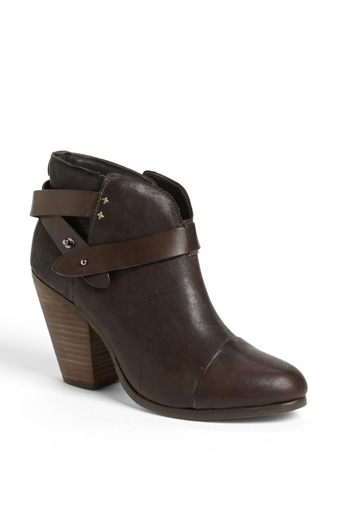 rag bone harrow boot brown in brown cont dp brn