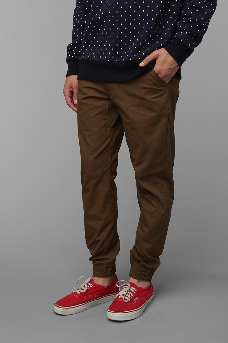 Urban Outfitters Jogger Pant In Brown For Men Lyst