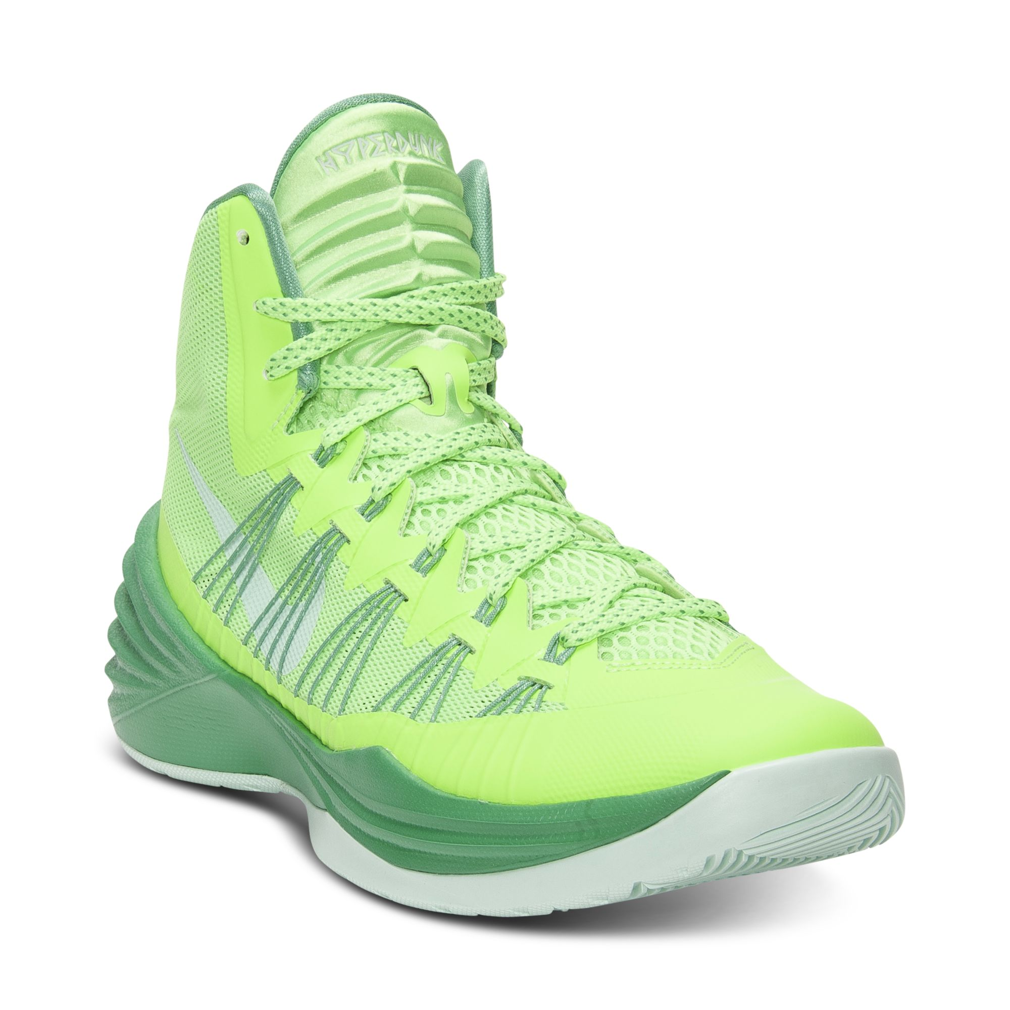 promo code 9af44 8832b Nike Hyperdunk Basketball Sneakers in Green for Men - Lyst