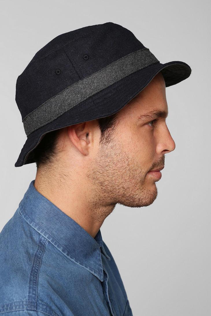 Lyst - Urban Outfitters Wool Bucket Hat in Blue for Men e31ba372186