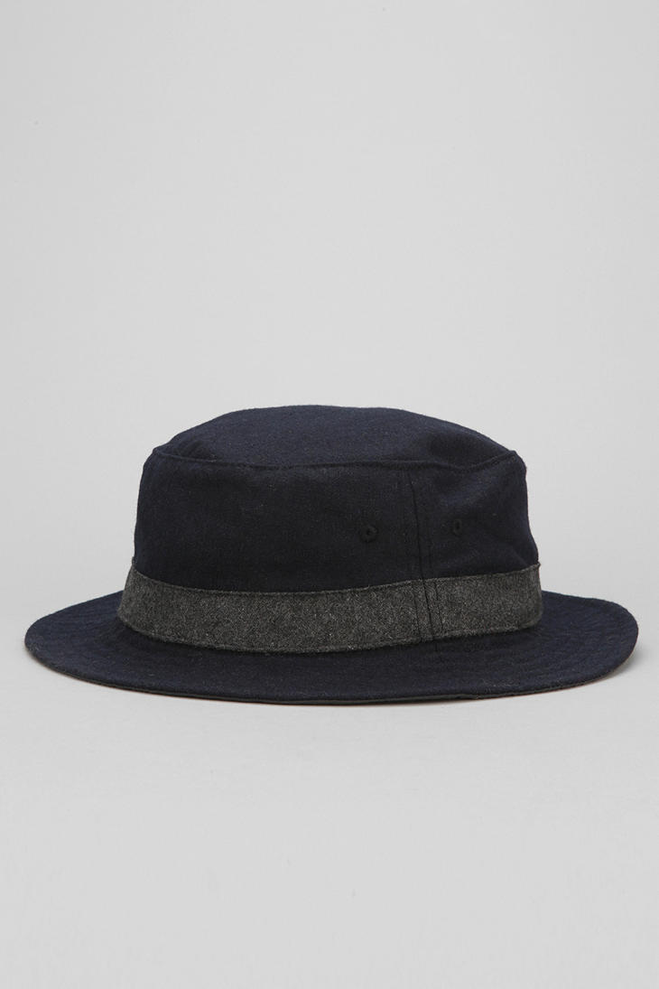 Urban Outfitters Wool Bucket Hat In Blue For Men Lyst