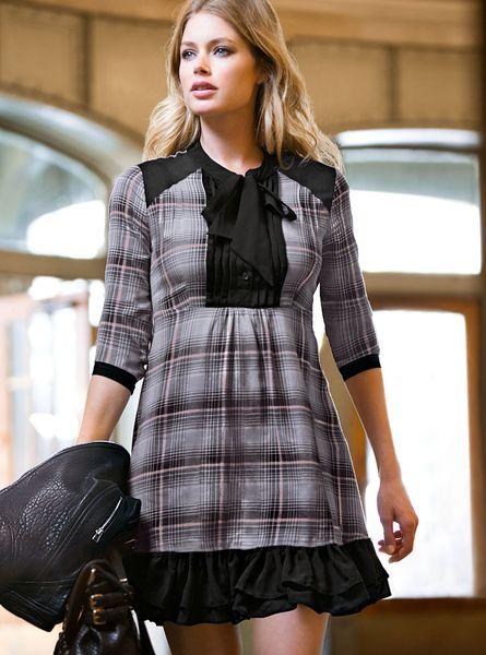 Victoria 39 S Secret Flannel Shirt Dress In Gray Grey Pink