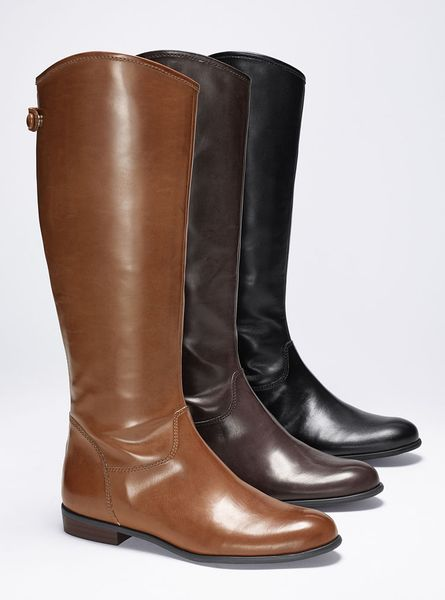 Victoriau0026#39;s Secret Raya Riding Boot In Brown (tan)