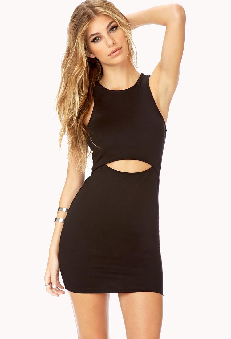 7c3a29ba4710 forever 21 black cut out dress – Little Black Dress
