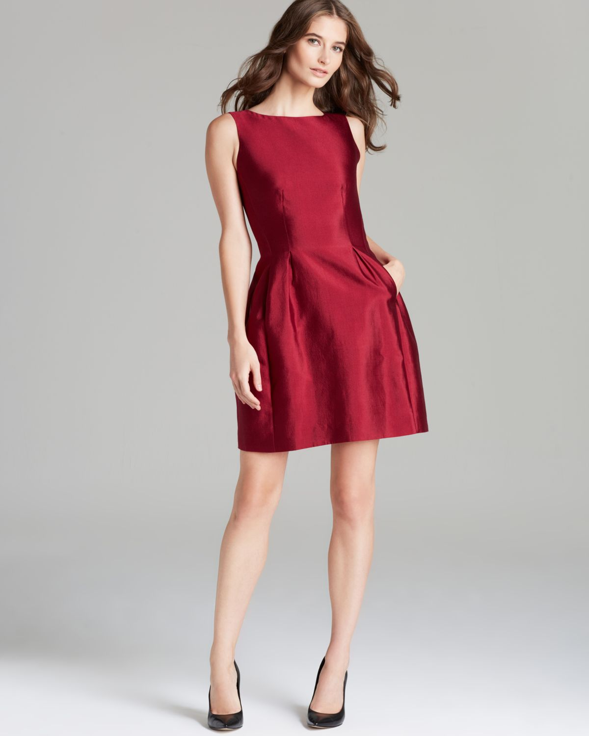 Lyst Kate Spade New York Alanis Dress In Red