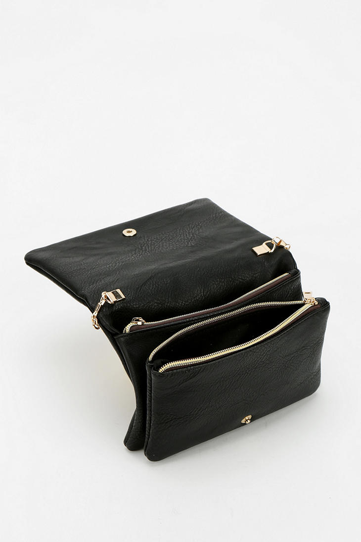 d7b87fcac1 Urban Outfitters Deena Ozzy Hammered Crossbody Bag in Black - Lyst