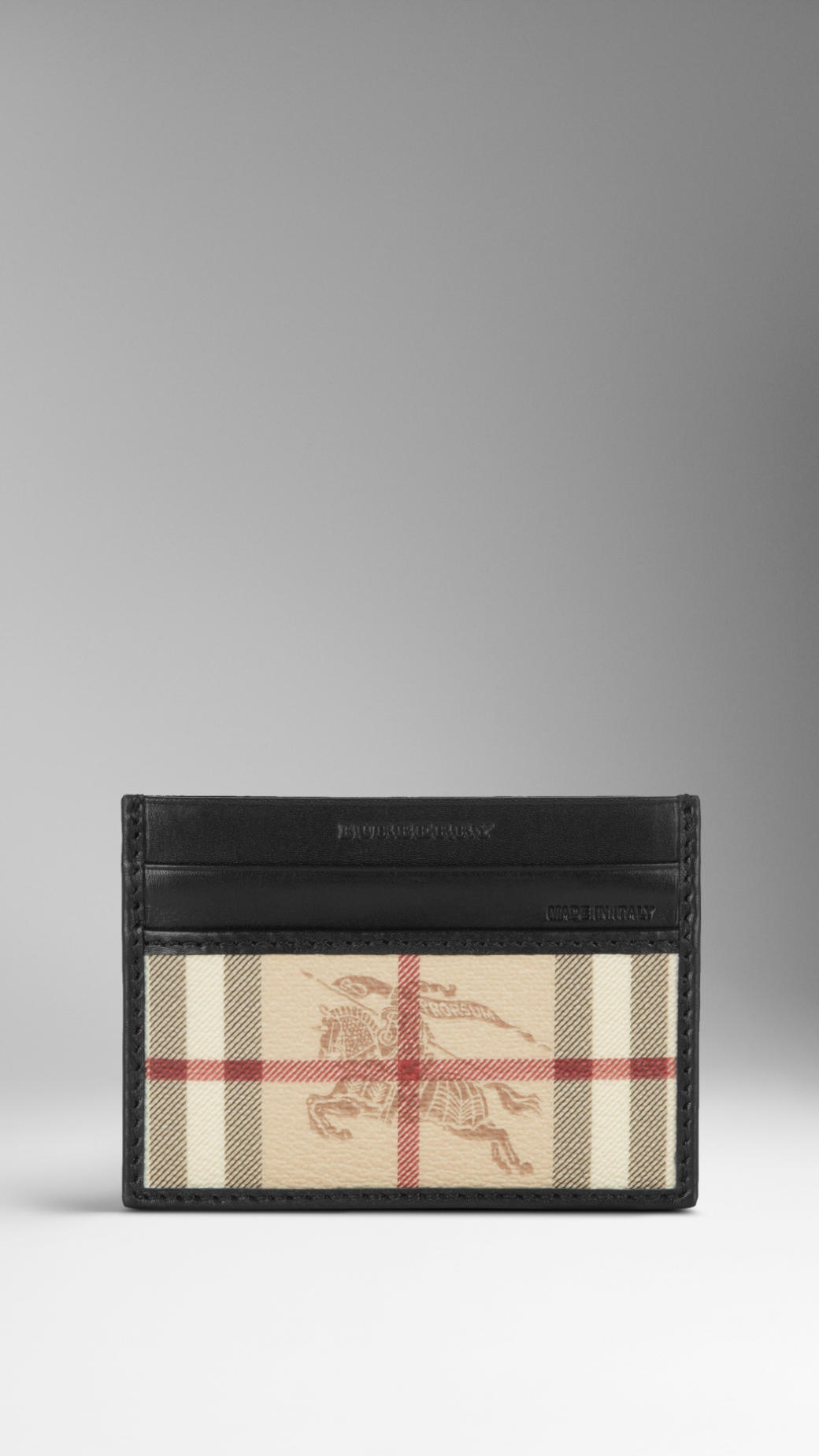 Discount Free Shipping Cheap Ebay Burberry Haymarket check cardholder Cheap Real Eastbay Outlet Fashionable Shop For Cheap Online jkdEnd