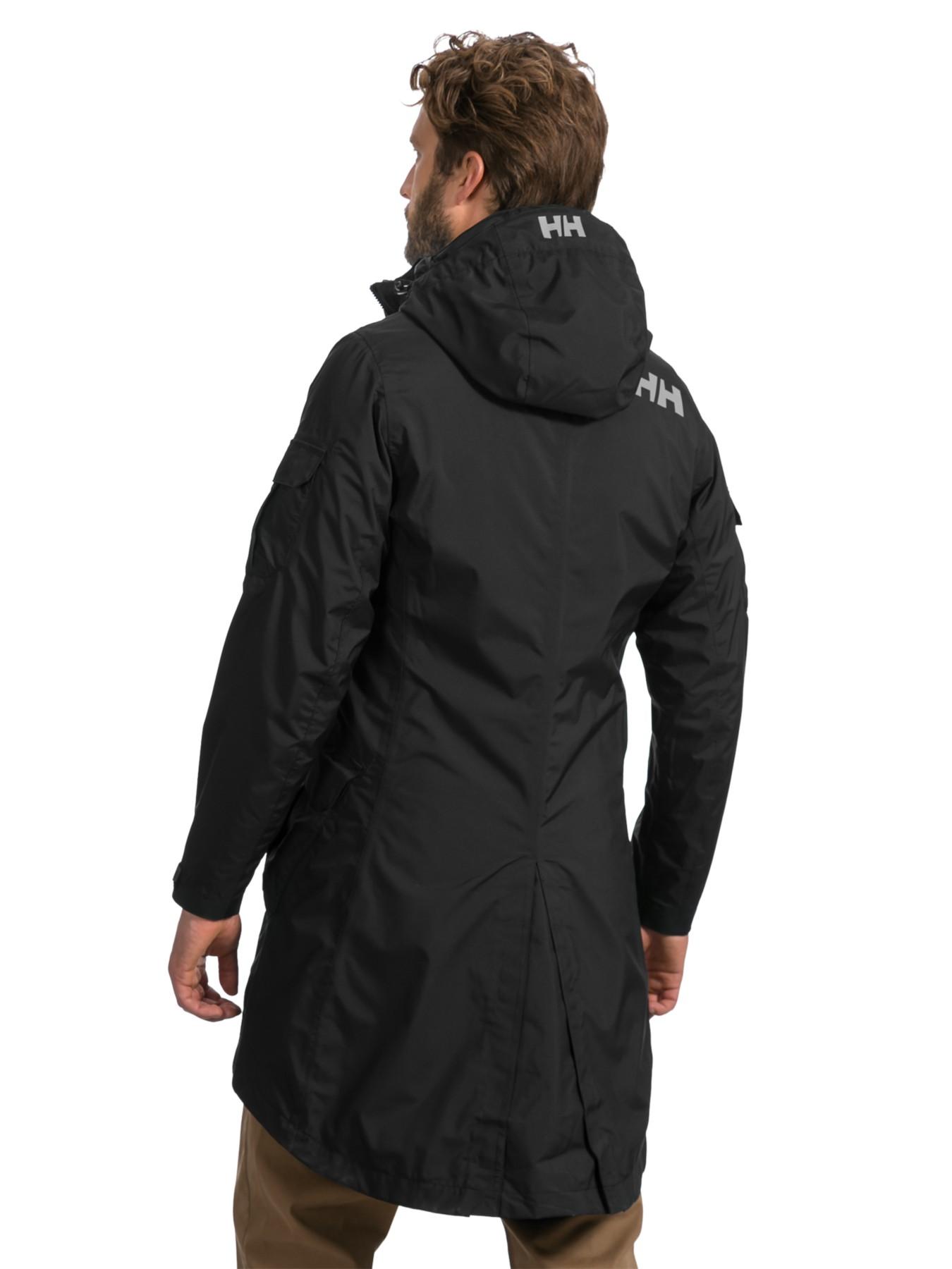 Helly Hansen Hydropower Rigging Coat In Black For Men Lyst