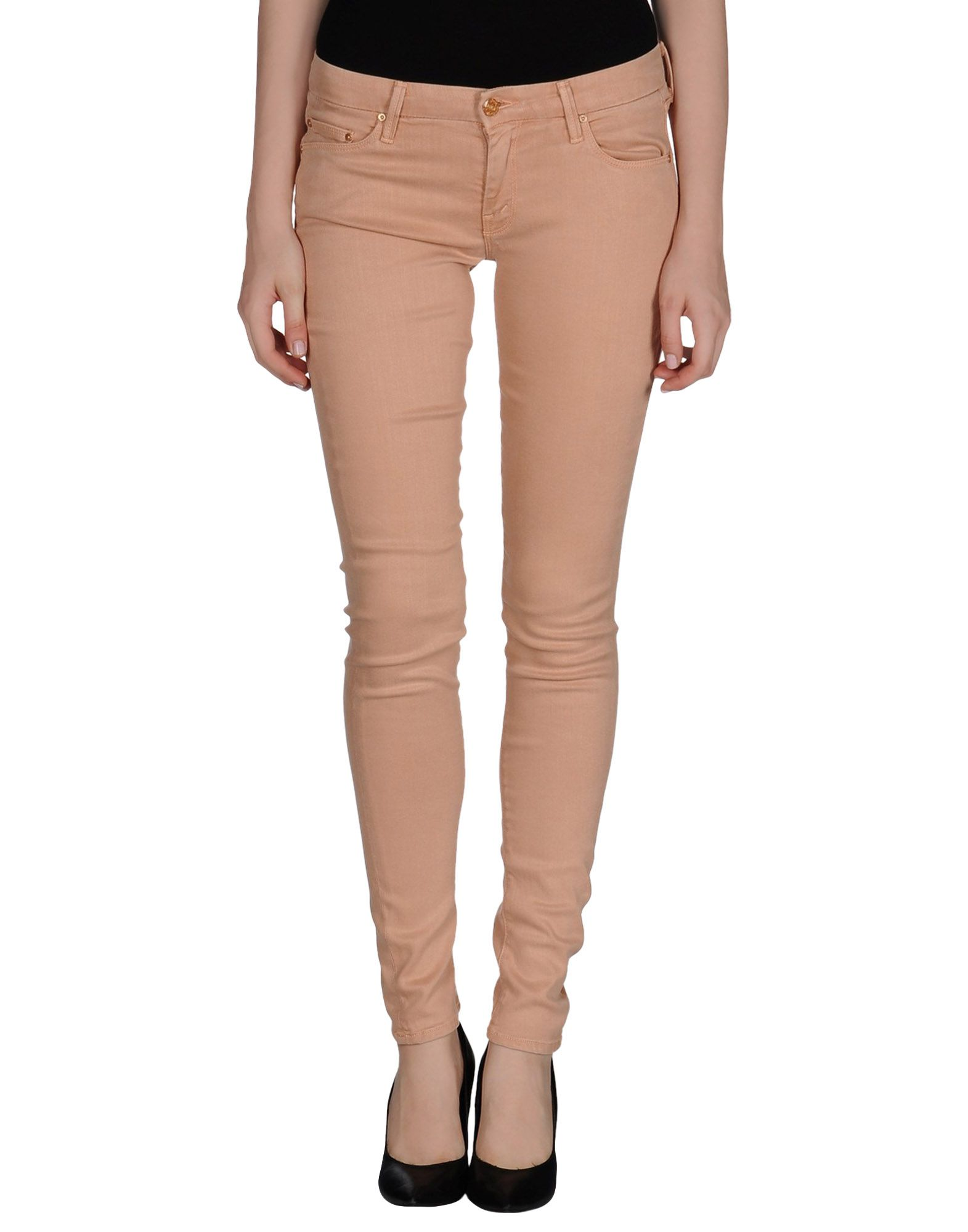 Mother Denim Trousers in Blue (Skin colour) | Lyst