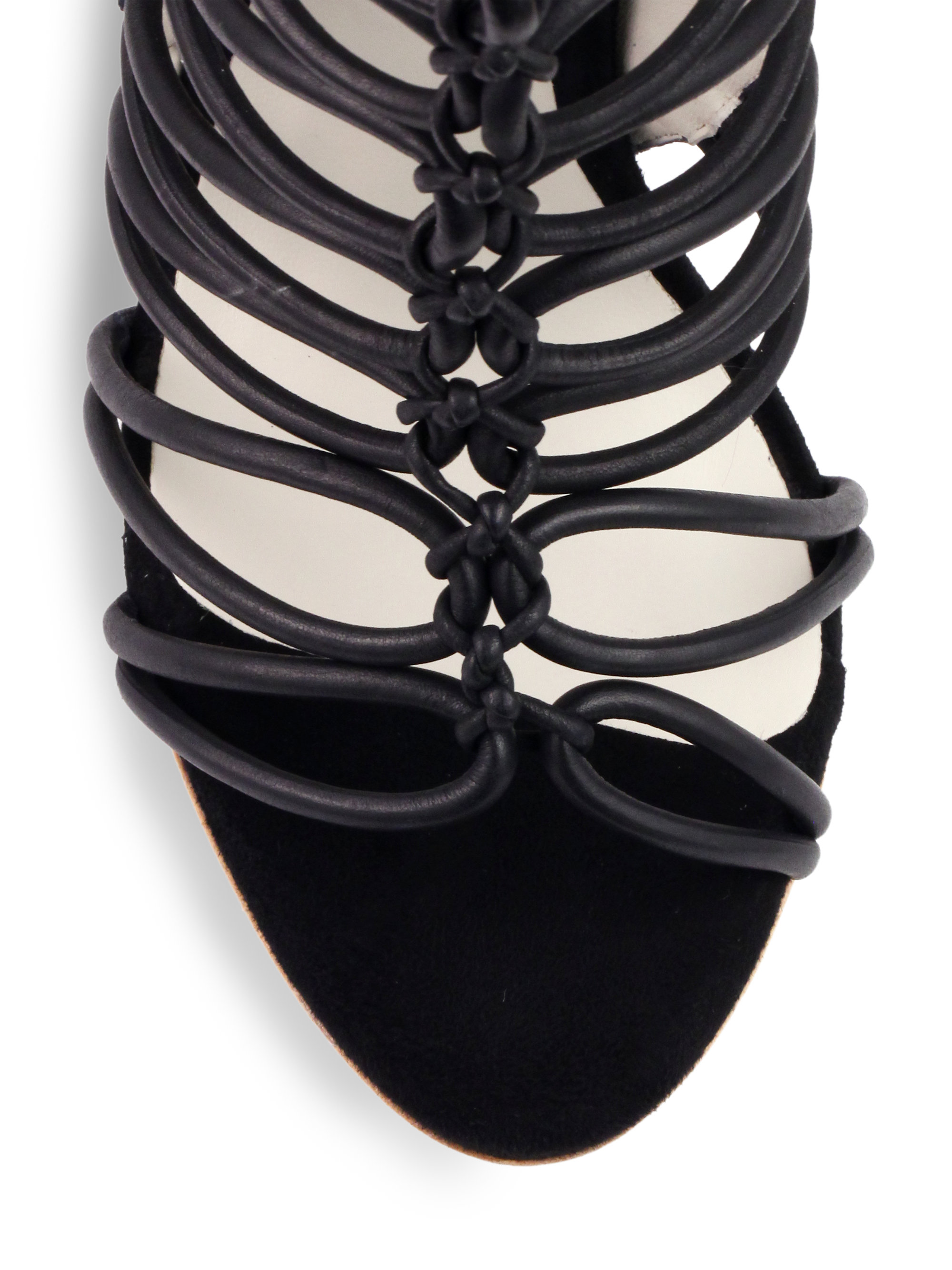 Sophia Webster Leather Clementine Strappy To-the-knee