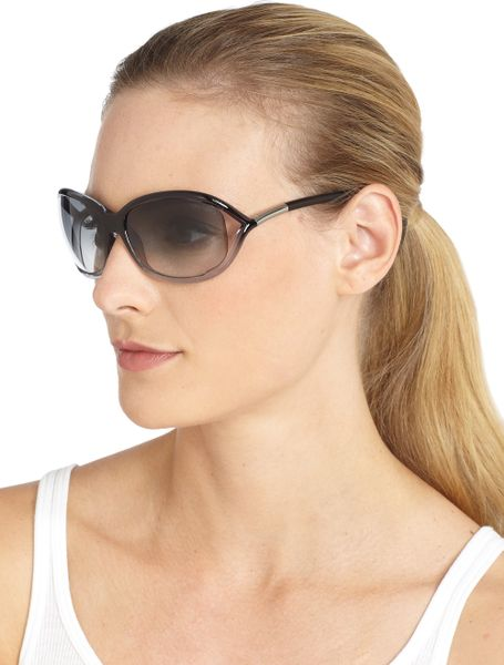 tom ford jennifer softwrap sunglasses in gray grey smoke lyst. Cars Review. Best American Auto & Cars Review