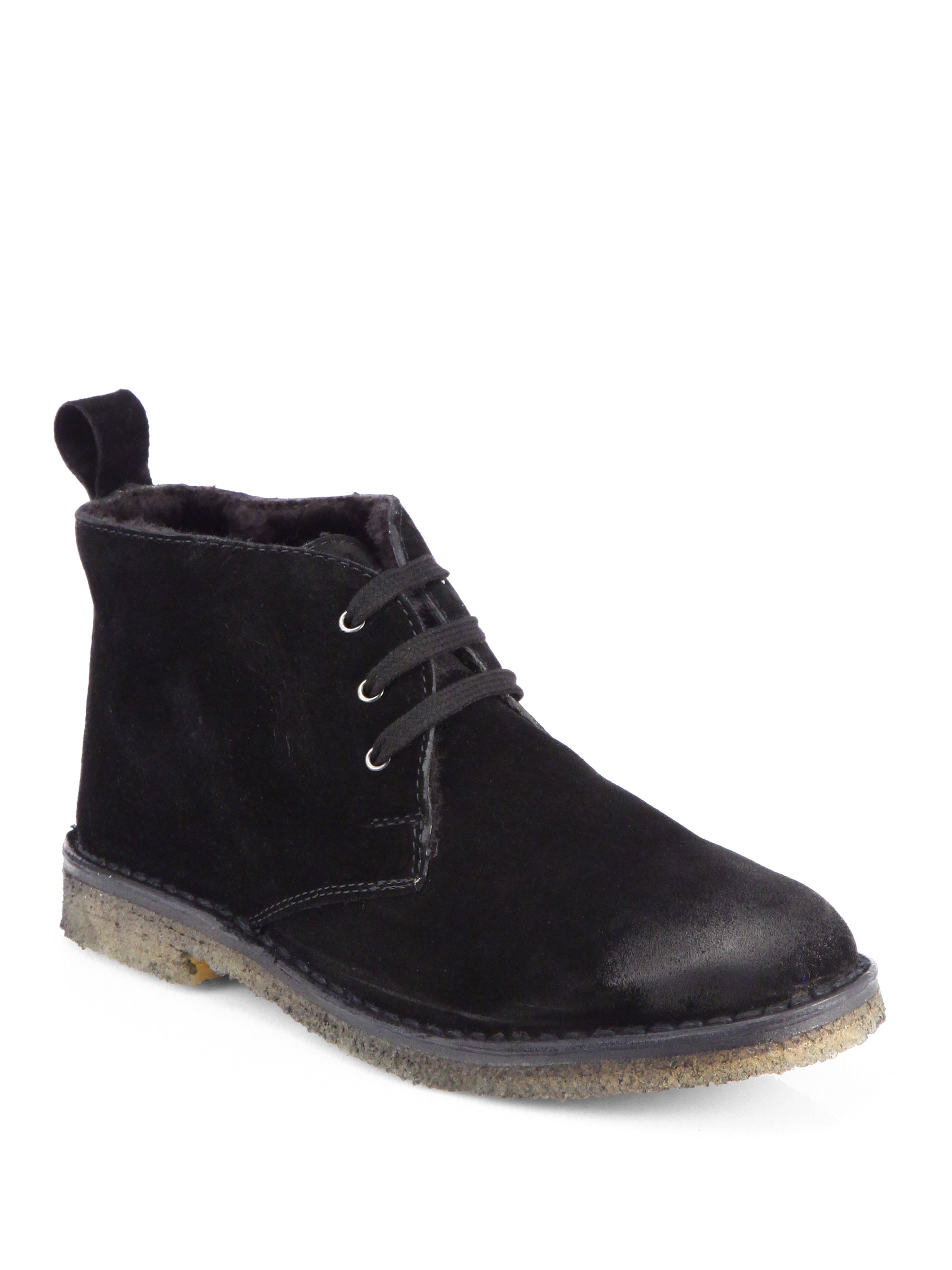 Vince Chukka Boots In Black Lyst