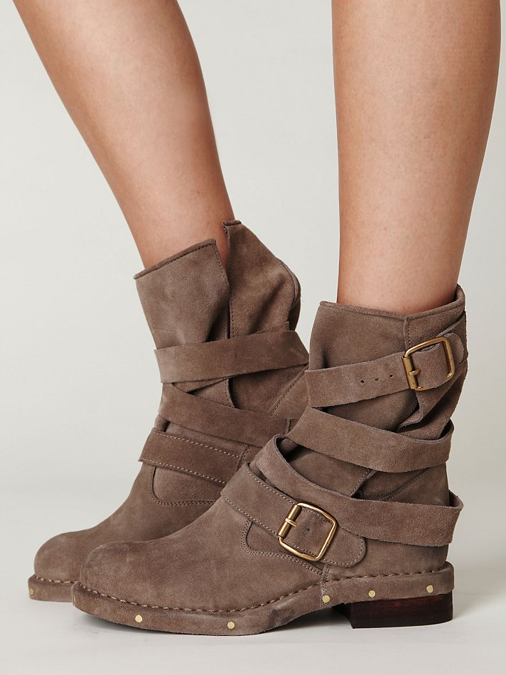 great fit for whole family cheapest Jeffrey Campbell Brit Boot in Taupe Suede (Brown) - Lyst