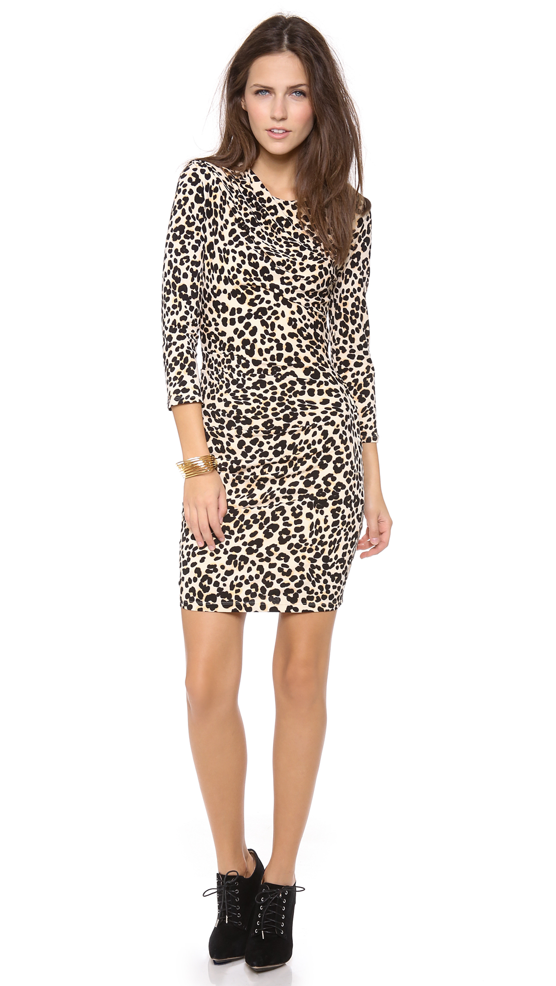 Lyst - Juicy Couture King Cheetah Dress