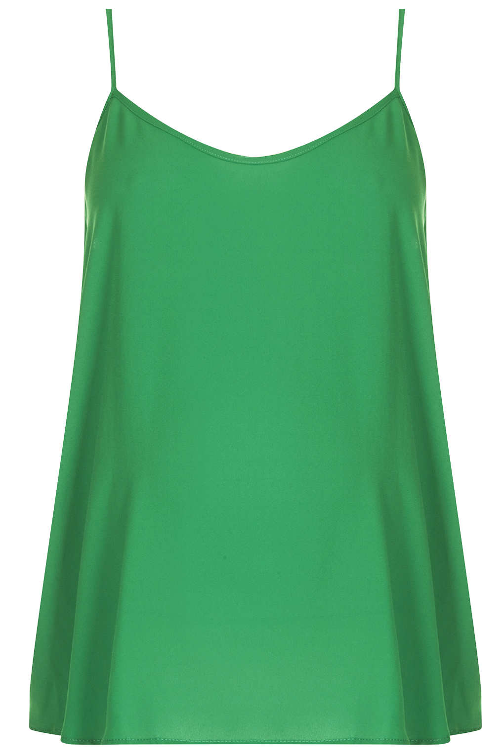 d4e9ab8ff3194 TOPSHOP Maternity Strappy Cami Top in Green - Lyst