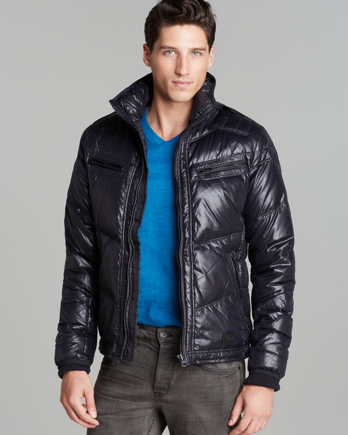 Mens Quilted Jackets