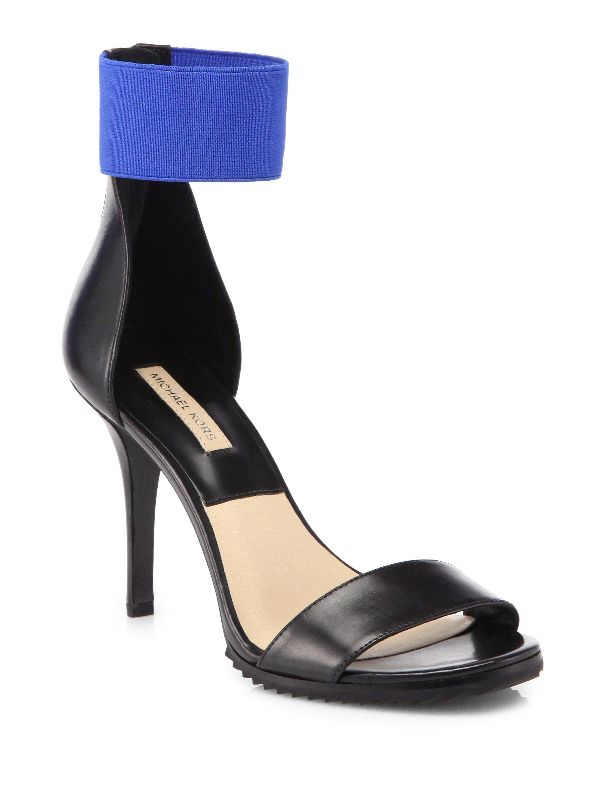 Michael Kors Barbara Runway Leather