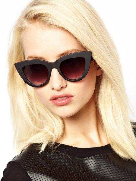 Thin Cat Eye Sunglasses Kitti Cat Eye Sunglasses