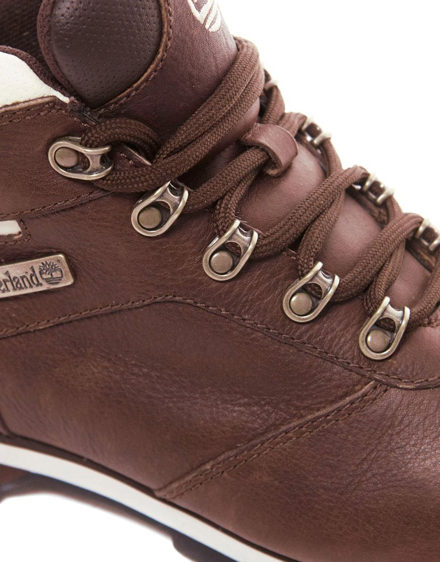 ASOS Timberland Splitrock 2 Hiking Boots in Brown for Men Lyst