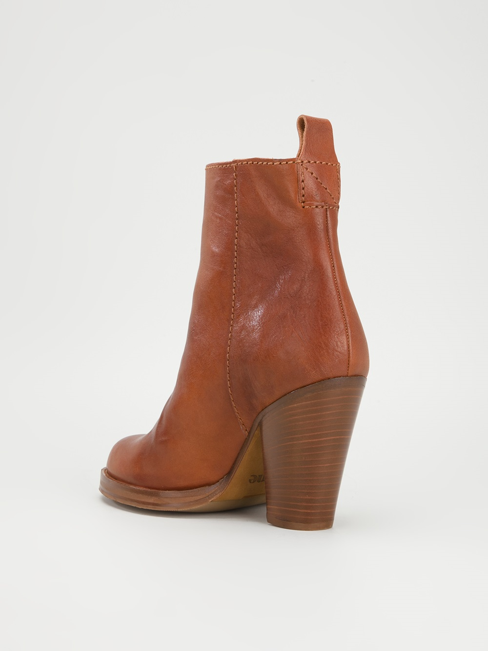 Acne Studios Colt Ankle Boot in Brown
