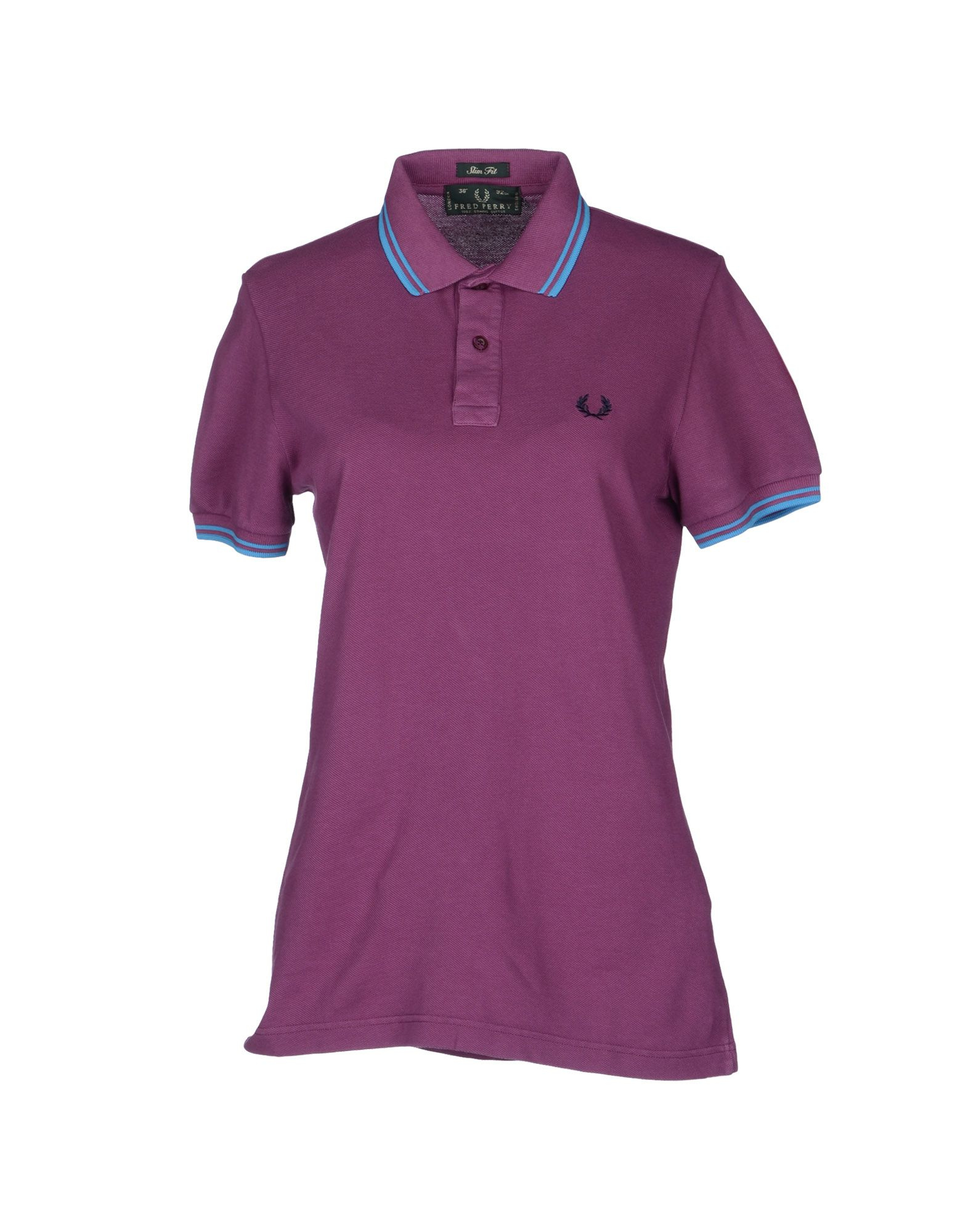 fred perry polo shirt in purple lyst. Black Bedroom Furniture Sets. Home Design Ideas