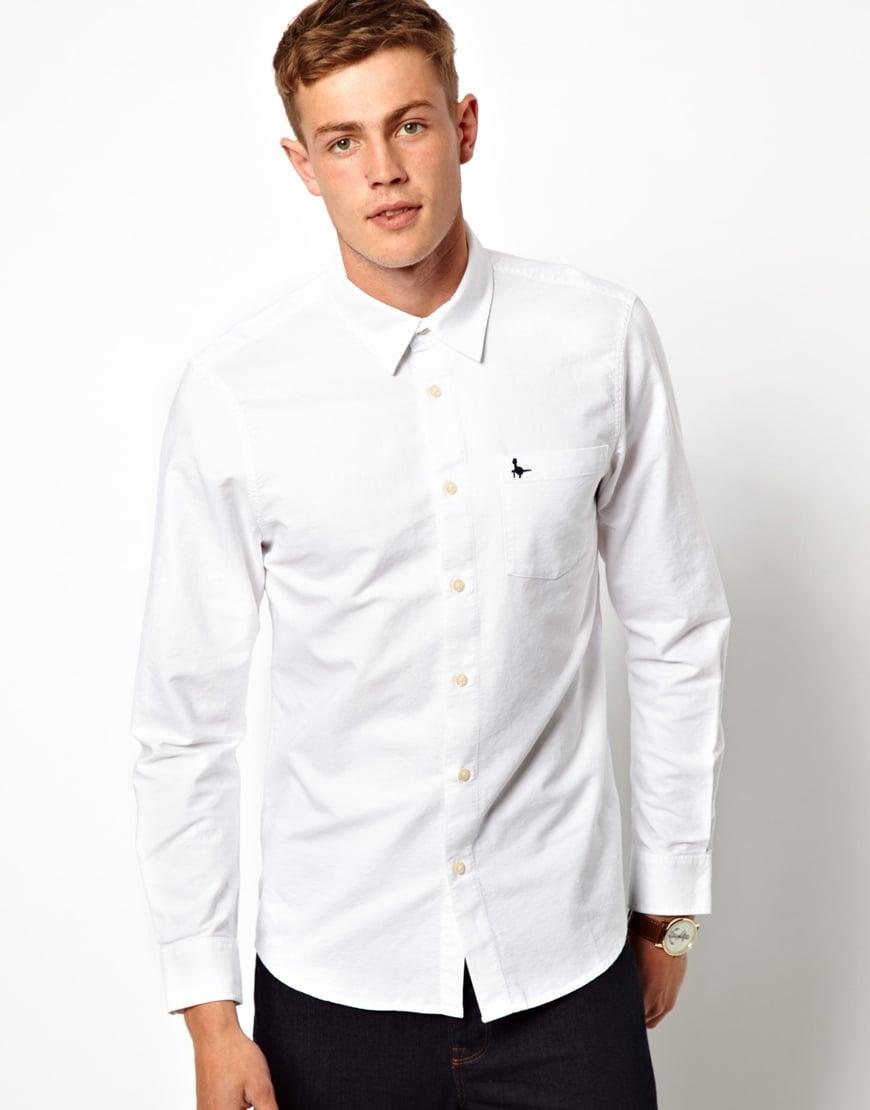 Jack Wills Oxford Shirt In White For Men Lyst