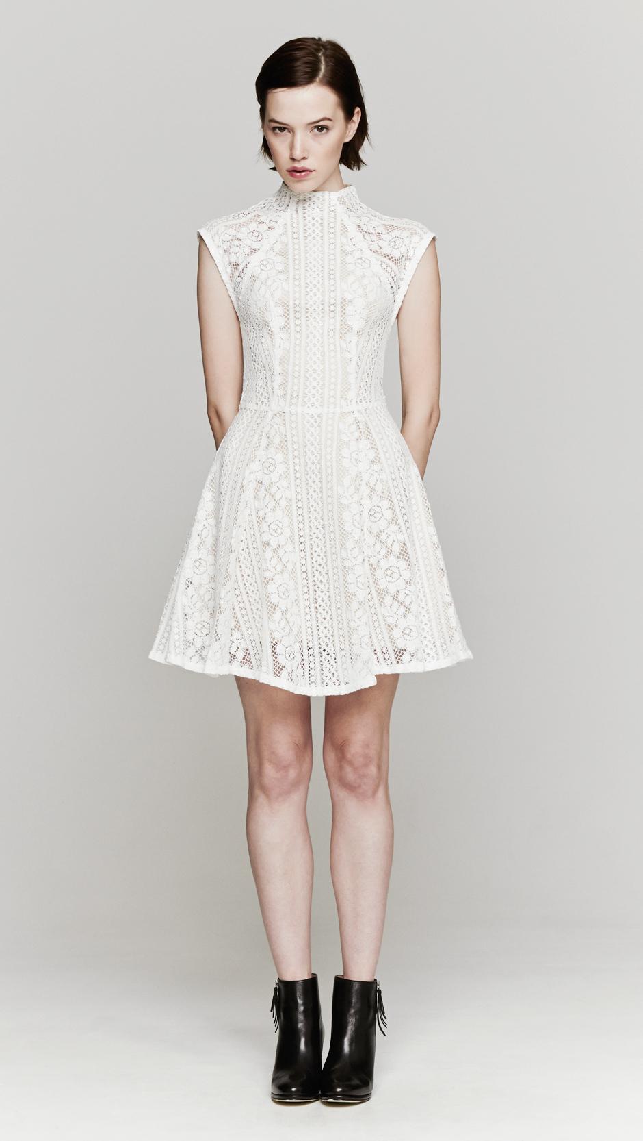 Lover Valentine Mini Dress In White Lyst