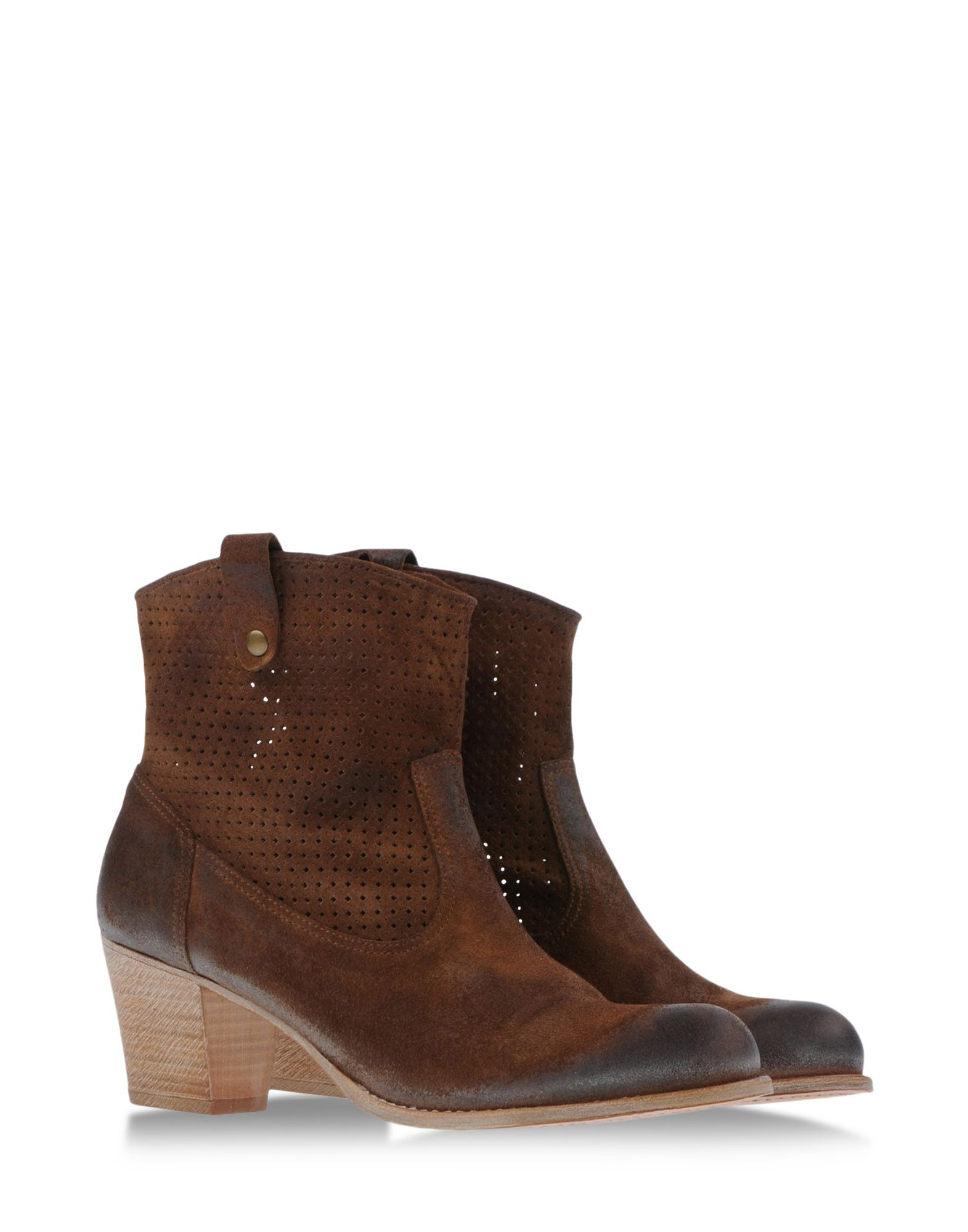 ndc ankle boots in brown khaki lyst