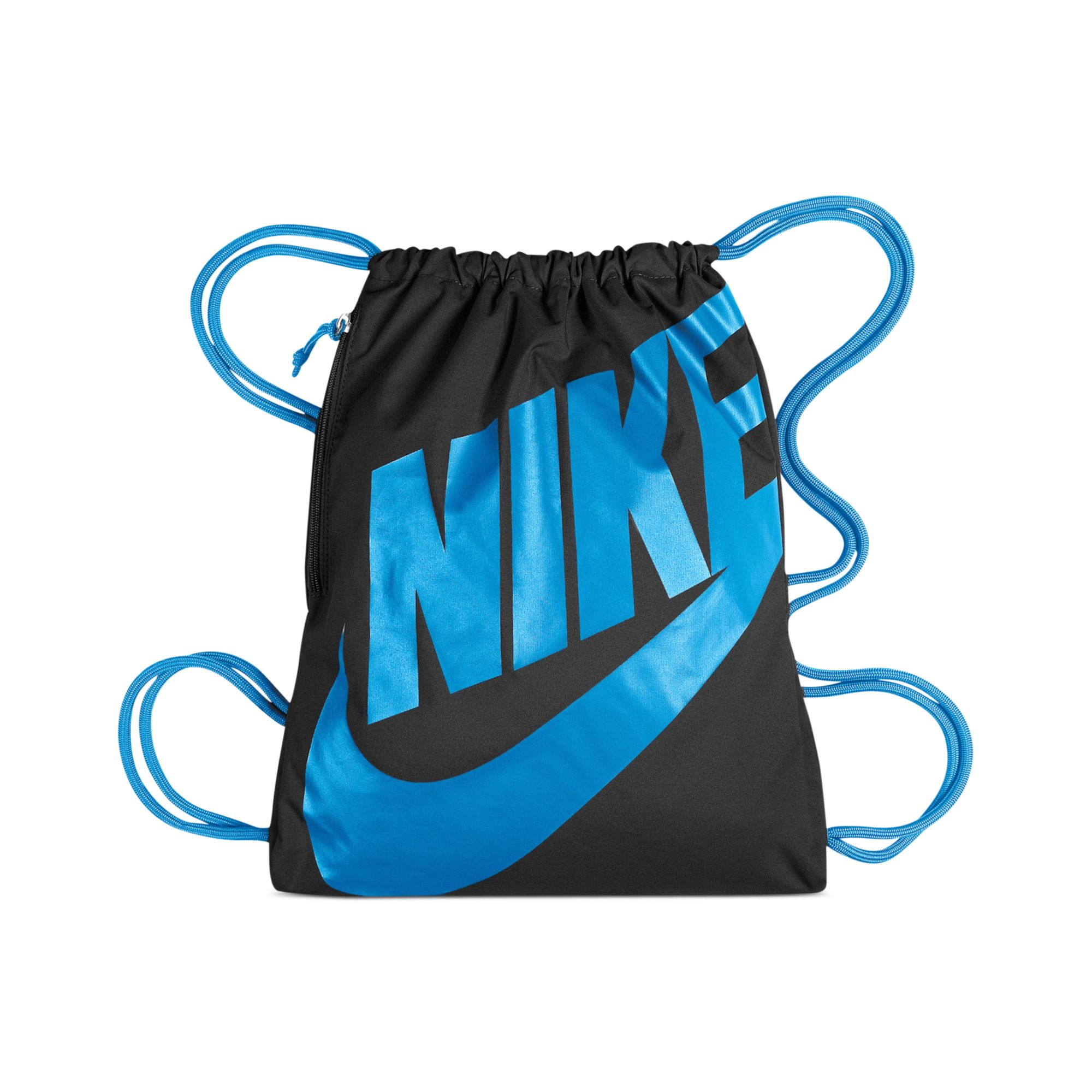 Lyst - Nike Heritage Gymsack in Blue for Men d4409d0aa5