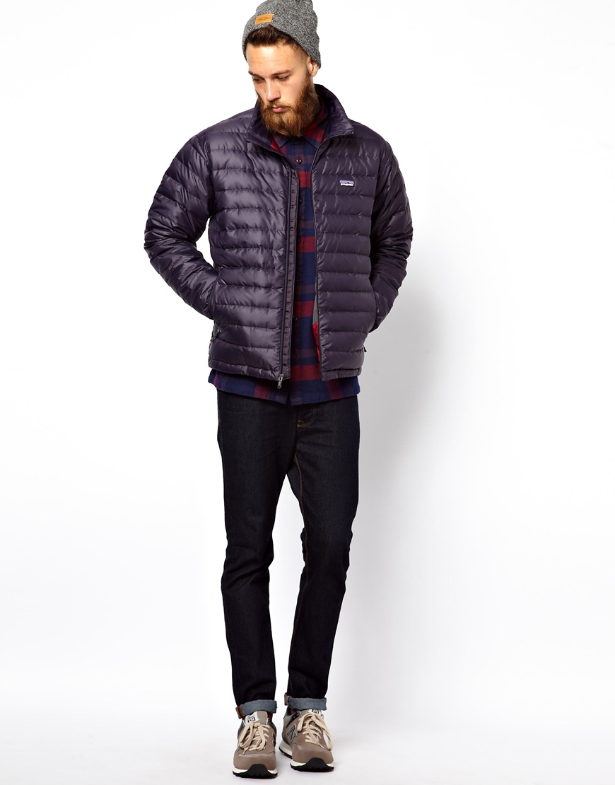 Lyst Onitsuka Tiger Down Sweater Jacket In Blue For Men