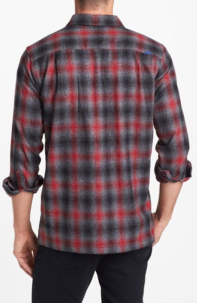 Polo ralph lauren red custom fit plaid flannel product 1 for Mens 4xlt flannel shirts
