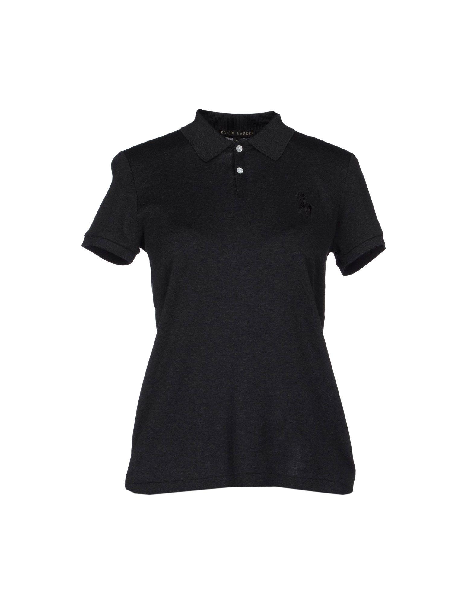 Ralph lauren black label polo shirt in gray steel grey for Ralph lauren black label polo shirt