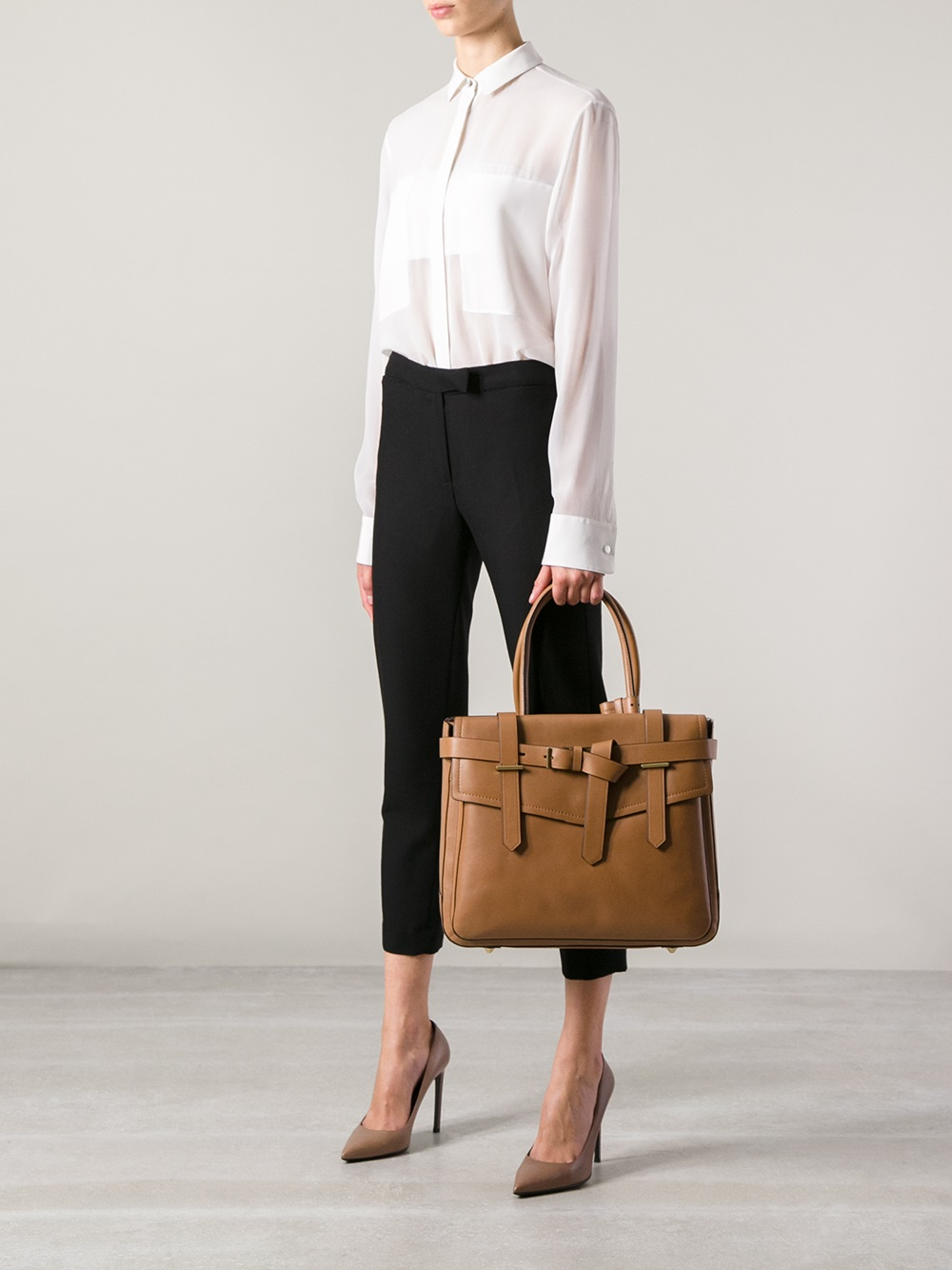 Reed Krakoff Boxer Tote in Brown