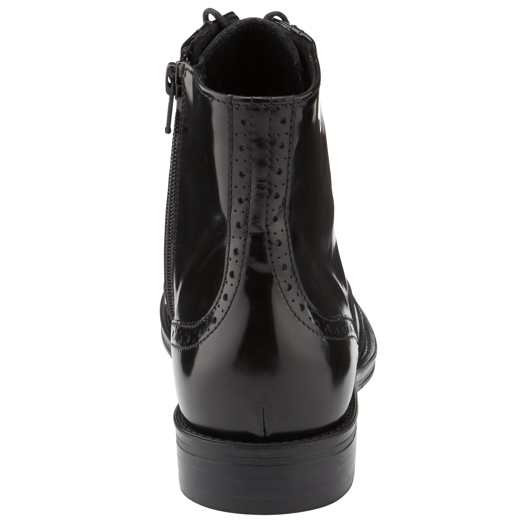 Somerset by Alice Temperley Leather Portbury Ankle Boots in Black