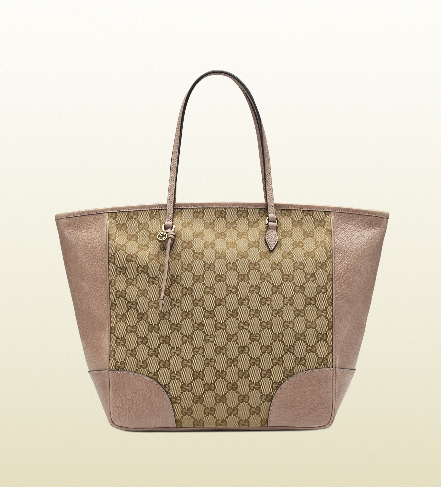 157edcdf055 Lyst - Gucci Bree Original Gg Canvas Tote in Natural