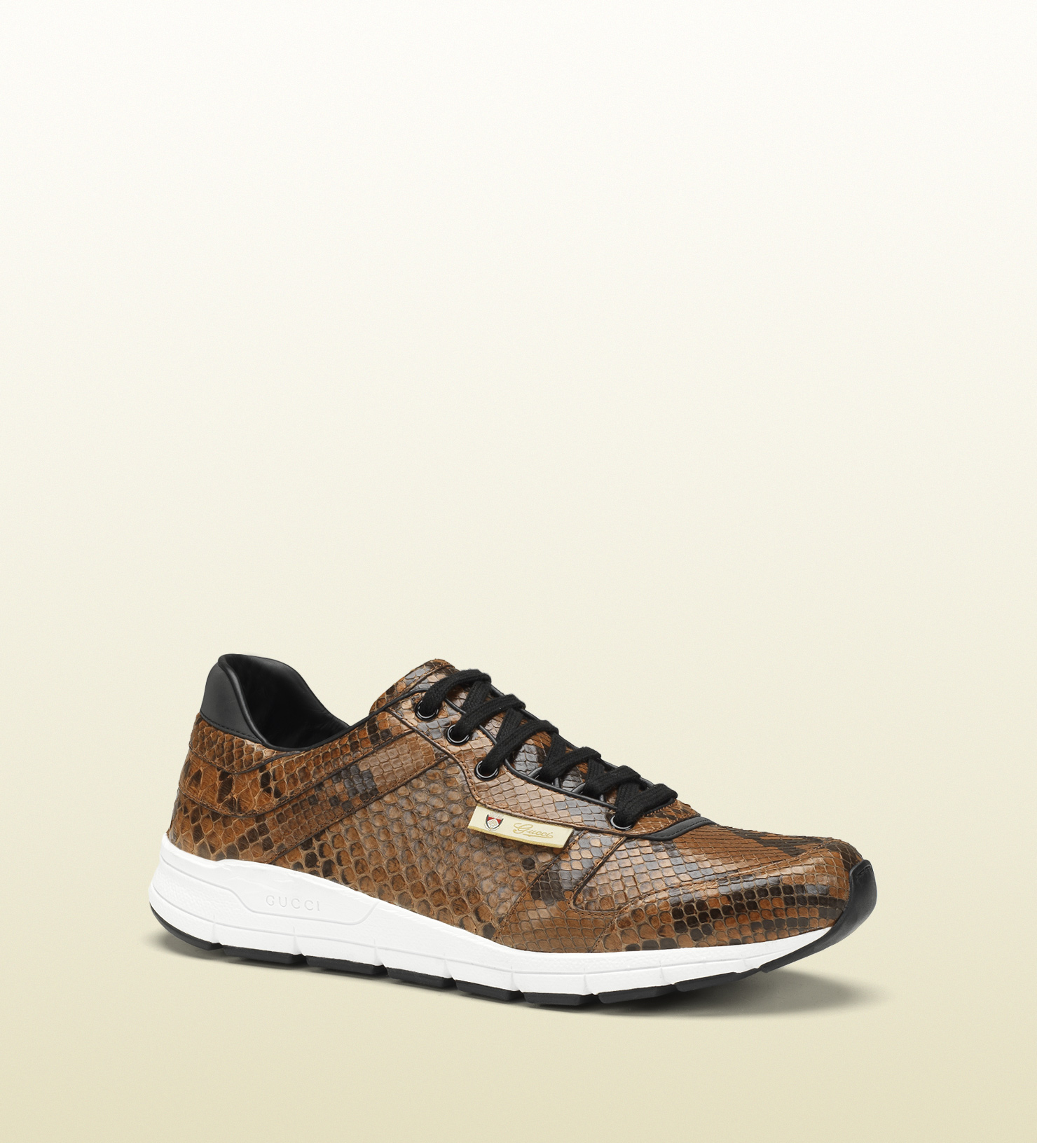 Gucci Brown Suede Arne S Sneakers rtjNc7