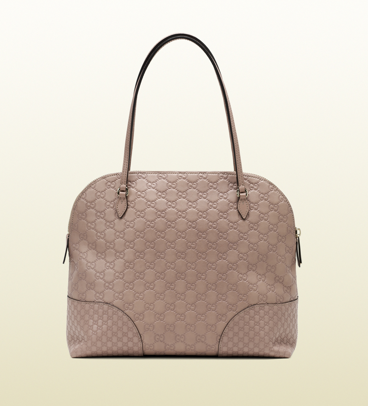 Lyst - Gucci Bree Ssima Leather Shoulder Bag in Pink